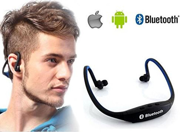 Bluetooth Headphones for iPhone, Mac, Android, Tablets, and Blackberry