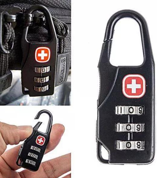 Swiss Cross Combination Lock