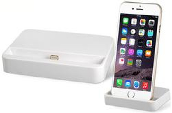 iPhone 5/5S/SE/6/6S/7 Charge + Sync Dock