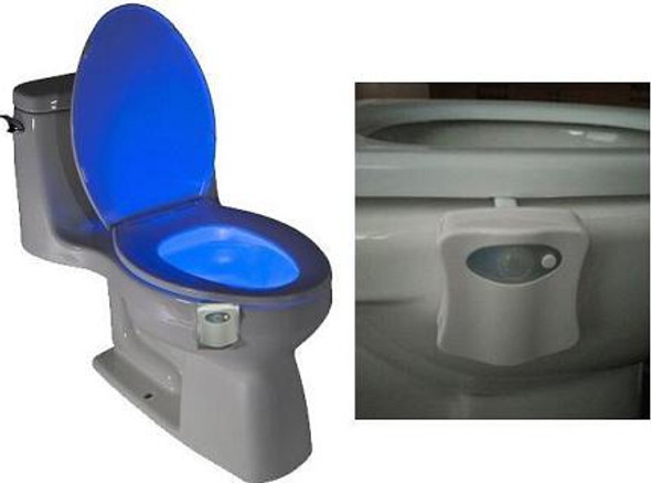 8 Color Toilet Night light with Motion Sensor