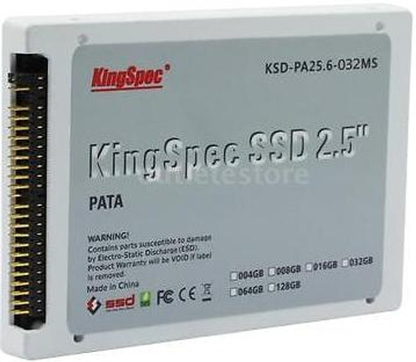 "KingSpec 2.5"" Solid State Drive (SSD) - 32GB SATA 3"