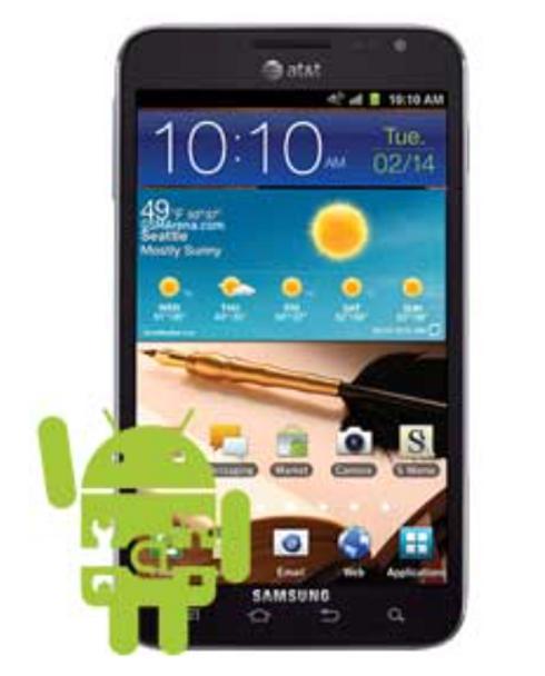 Samsung Galaxy Note 1 Software Repair