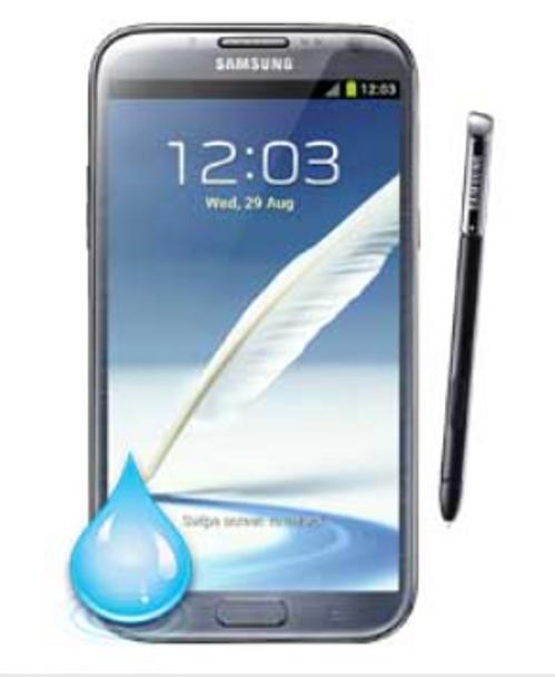 Samsung Galaxy Note 2 Water Damage Repair