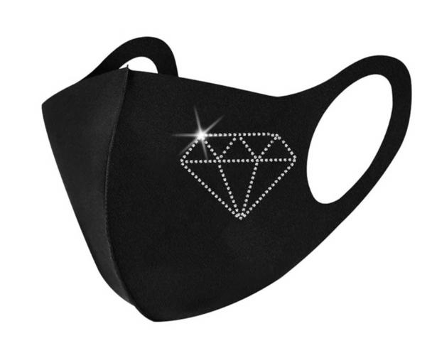 Black Design Masks