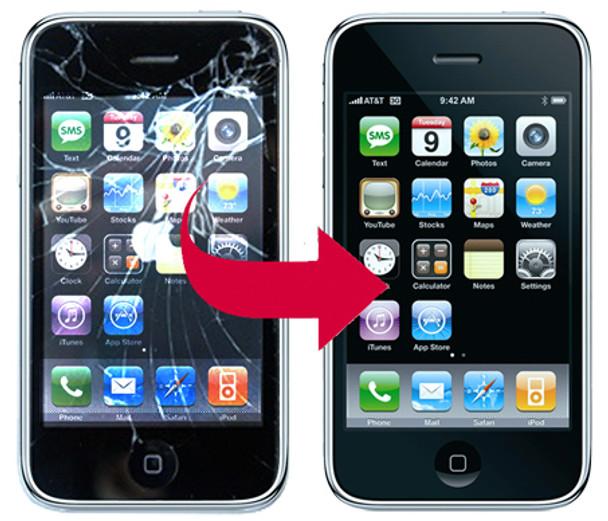 iPhone Repair - iPhone 3G 3GS Digitizer Screen Replacement
