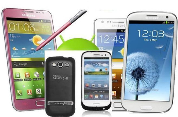 iPhone 4/4s, Samsung Galaxy S4, S3, S5, S2, NOTE 3, HTC ONE M7 Extended Battery Case