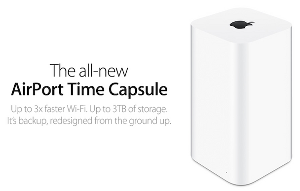 Apple Time Capsule 2TB WiFi Router