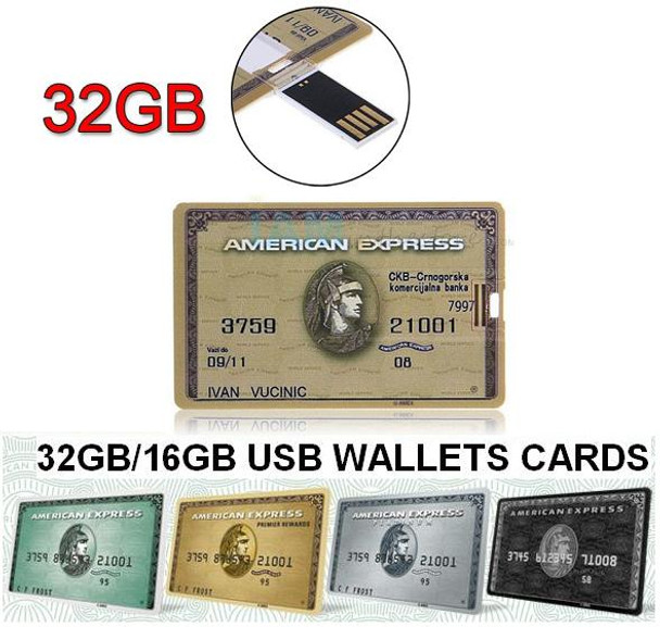 8GB USB Wallet Cards