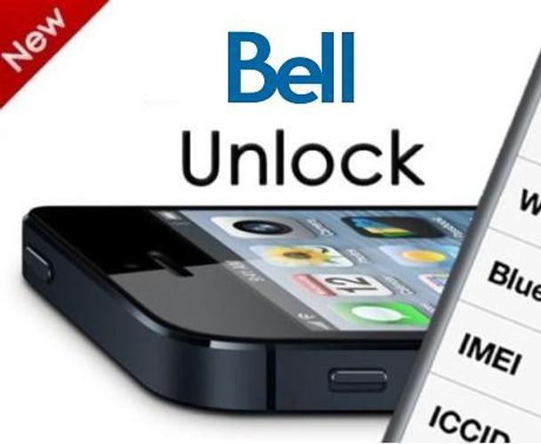 iPhone 6, 6 PLUS, 5S 5C 5 4S 4 Factory Unlock Bell or Virgin