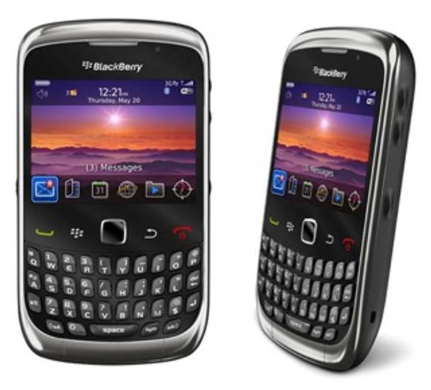 Mint Blackberry Curve 9300