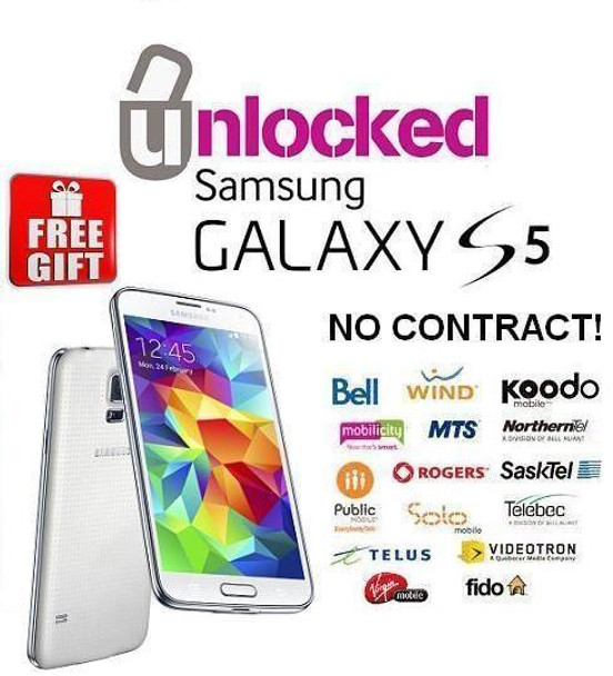 Samsung Galaxy S5 (Unlocked for all carriers) MINT