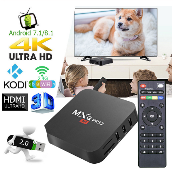 MXQ PRO 4K Android TV - Smart Media Player