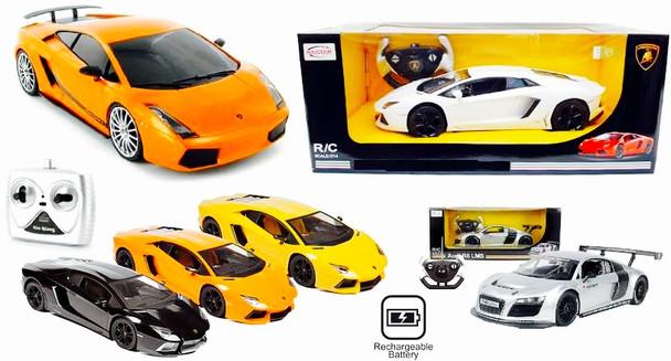 Remote Controlled Cars - Lamborghini and Ferrari