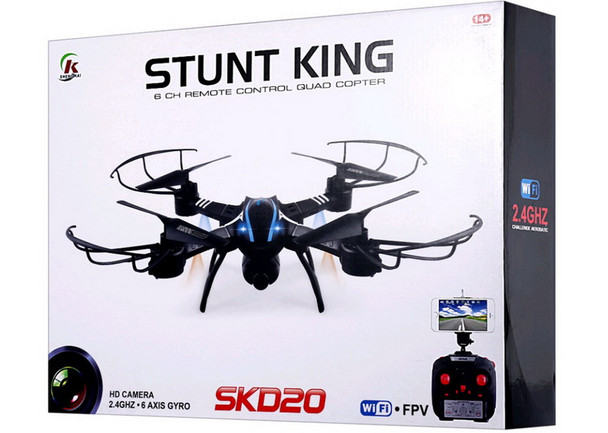 Stunt King FPV Drone with Remote Control