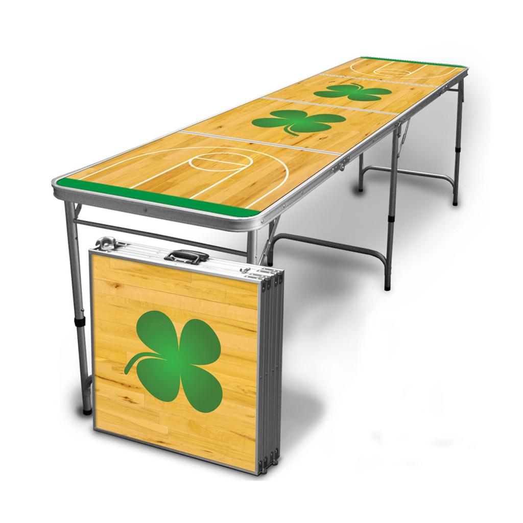 Shamrock Beer Pong Table