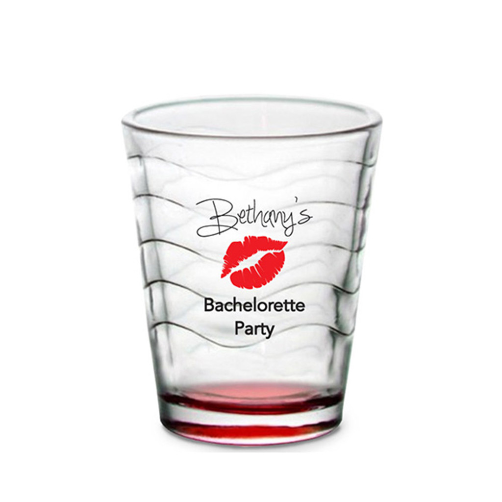 Custom Shot Glass - Lips (Set of 4)