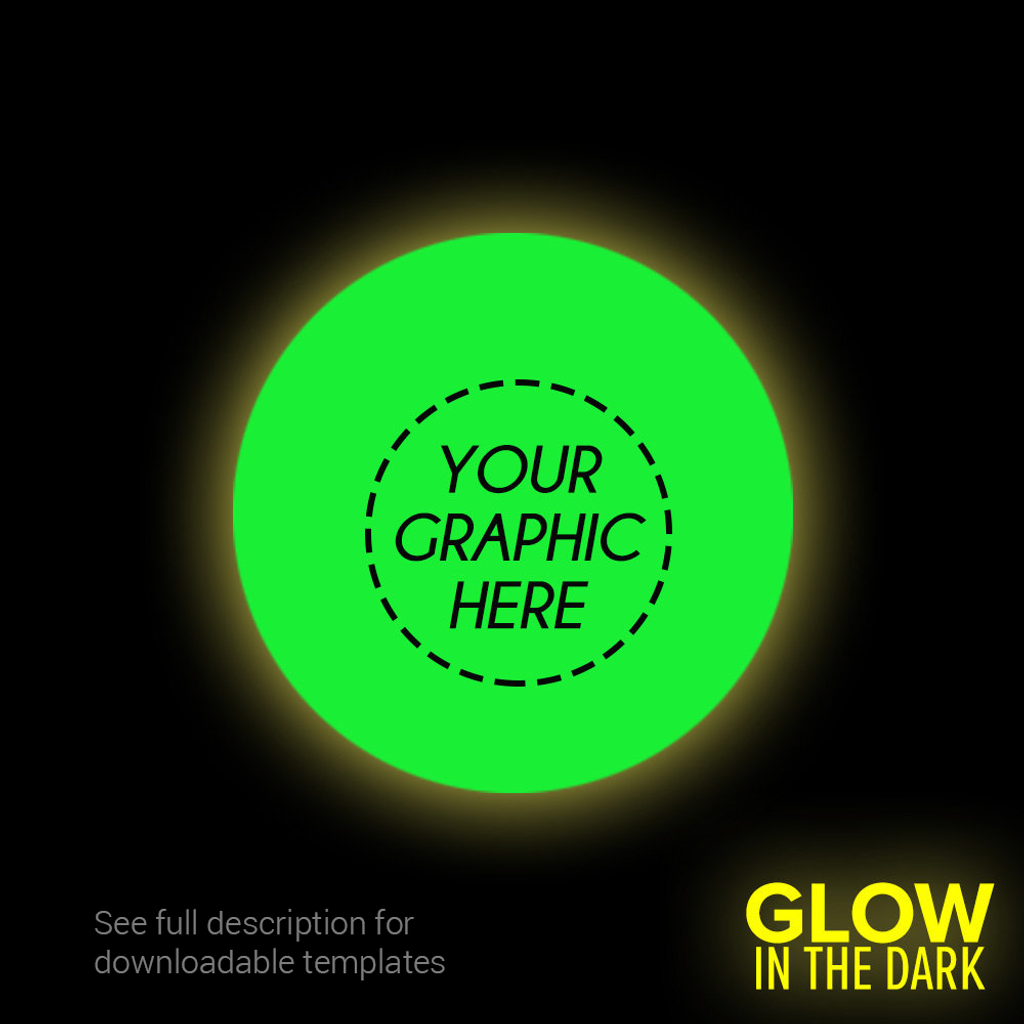 Custom Glow-in-the-Dark Ping Pong Ball (1-Star)