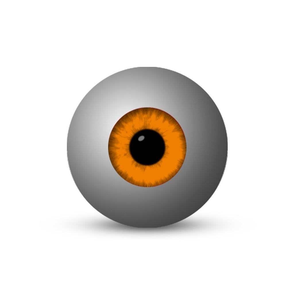 Eyeball - Orange (1-Star)