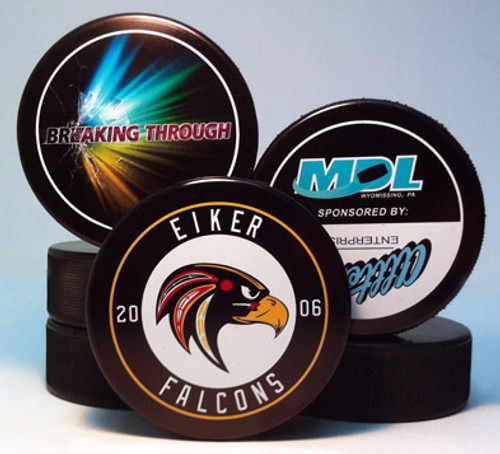 Custom Hockey Puck - Single Sided Imprint