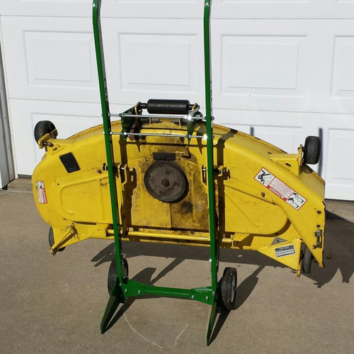 Deck Dolly for 1023E or 1025R tractors with 54D & 60D mower
