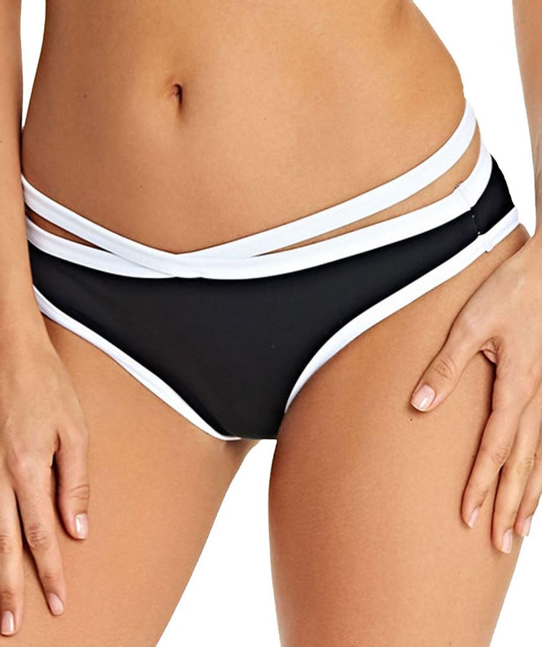 Freya Macrame As4058 Rio Bikini Brief Black M Cs blk