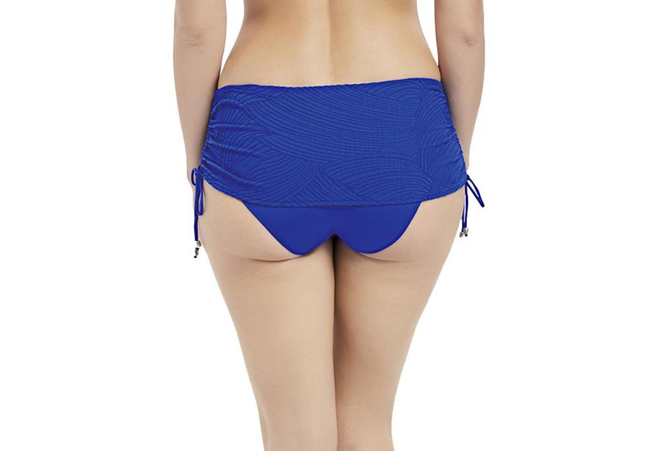 XXL CS Fantasie Ottawa FS6359 Adjustable Skirted Bikini Brief Pacific PAC