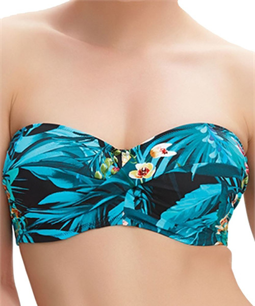 Fantasie Seychelles FS6105 WP Underwired Padded Bandeau Bikini Top