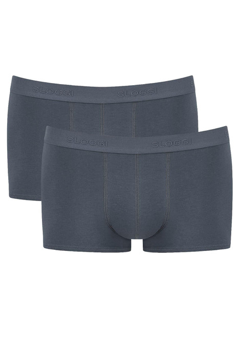 Sloggi Men 24/7 Hipster 2P 2 Pack Briefs Stormy Grey (00MY) CS