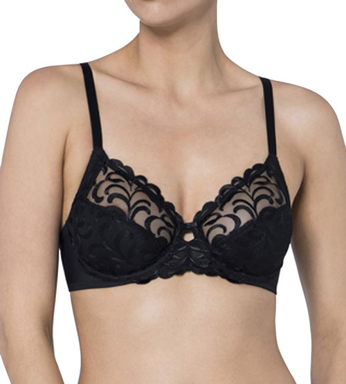 Triumph Modern Finesse W02 Underwired Bra Black (0004) CS