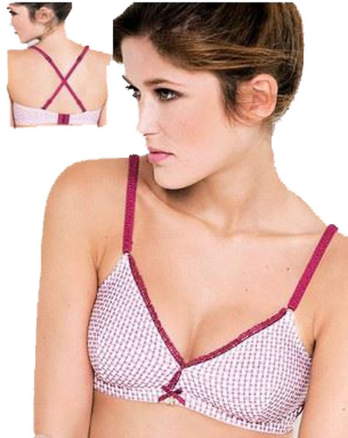 Triumph BeeDees Lucky Heart 57 NM Non wired, multi-way Bra