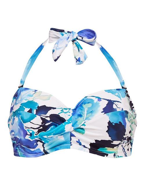 Fantasie Capri FS6368 W Underwired Twist Bandeau Bikini Top