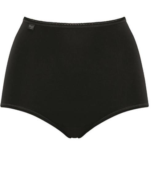 Sloggi Women 24/7 Cotton Maxi Brief Black (0004) CS