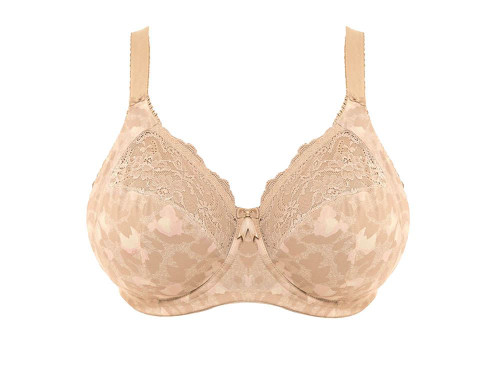 Elomi Morgan EL4110 W Underwired Banded Bra - Stretch Toasted Almond (TOD) CS