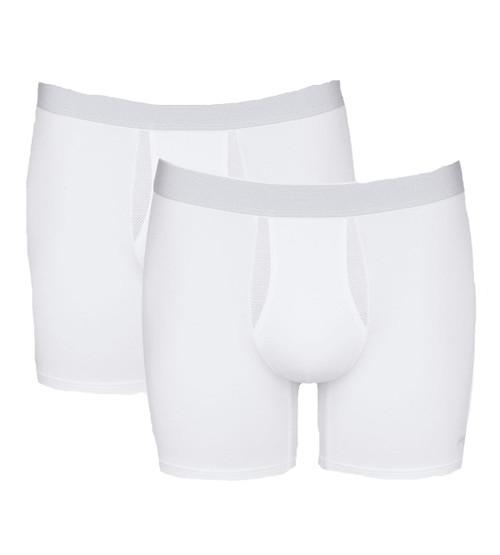 Sloggi Men Ever Fresh Short 2P 2 Pack Briefs White (0003) CS