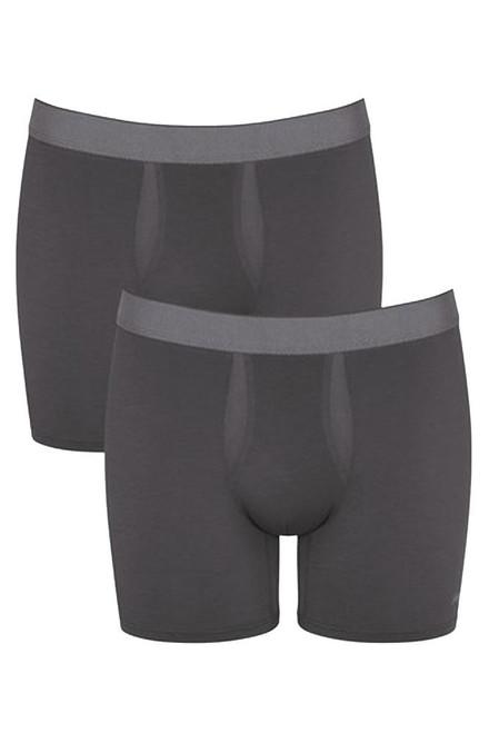 Sloggi Men Ever Fresh Short 2P 2 Pack Briefs Dark Grey (3284) CS