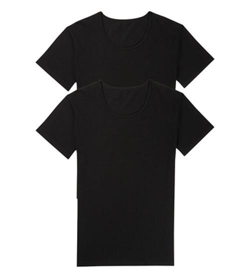 Sloggi Men 24/7 SH 03 O-Neck 2P 2 Pack T-Shirts Black (0004) CS