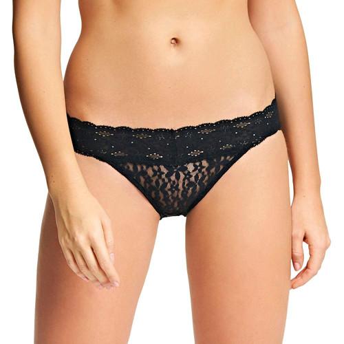Wacoal Halo Lace WA878205 Bikini Brief Black BLK CS