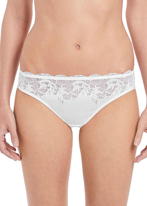 Wacoal Lace Affair WA846256 Bikini Brief White WHE CS