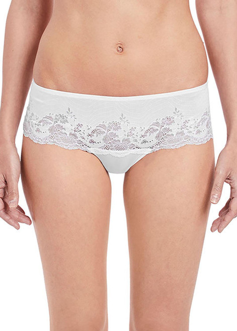 Wacoal Lace Affair WA845256 Tanga Brief White WHE CS