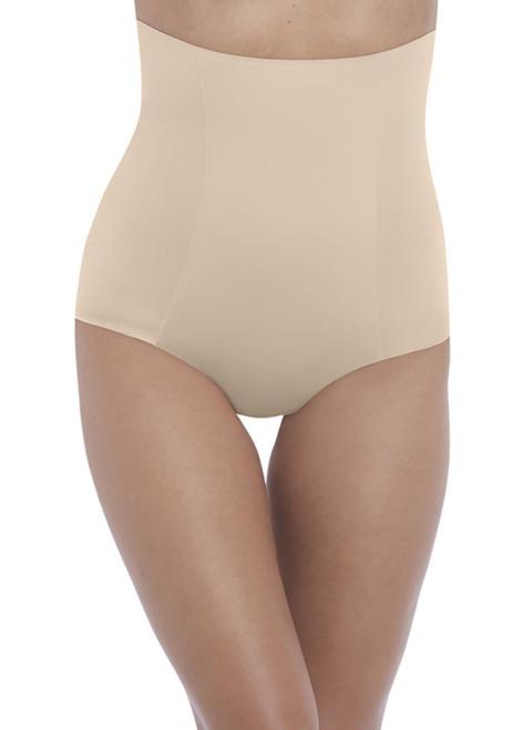 Wacoal Beyond Naked Cotton Shapewear WE808330 High Waist Shape Brief Sand CS