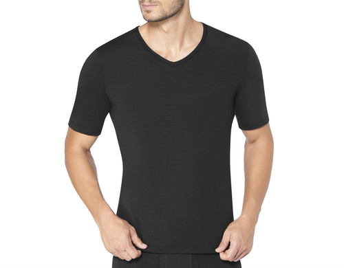Sloggi Men Ever Fresh V-Neck T-Shirt Black (0004) CS