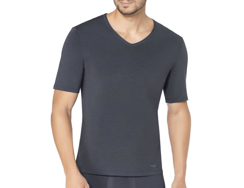 Sloggi Men Ever Fresh V-Neck T-Shirt Dark Grey (3284) CS