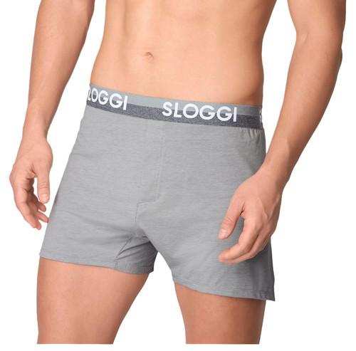 Sloggi Men The Slim Fit Boxer Brief Light Grey Melange (M032) CS