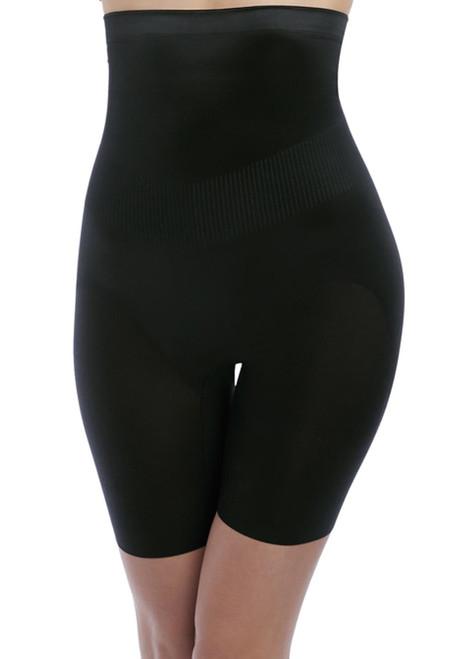 Wacoal Fit & Lift WE137008 High Waist Long Leg Shaper Brief Black BLK CS