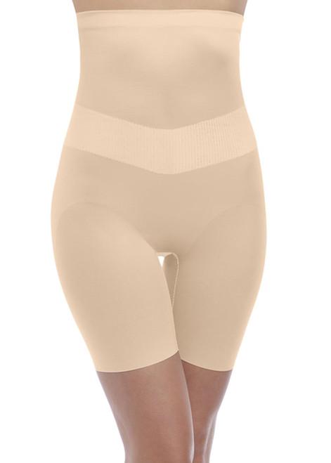 Wacoal Fit & Lift WE137008 High Waist Long Leg Shaper Brief Macaroon MCN CS
