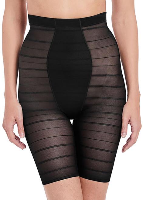 Wacoal Sexy Shaping WE132008 High Waist Long Leg Shaper Brief Black CS