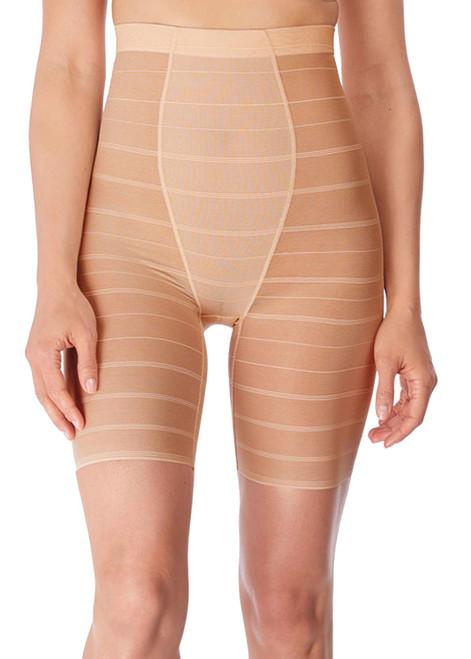 Wacoal Sexy Shaping WE132008 High Waist Long Leg Shaper Brief Powder CS