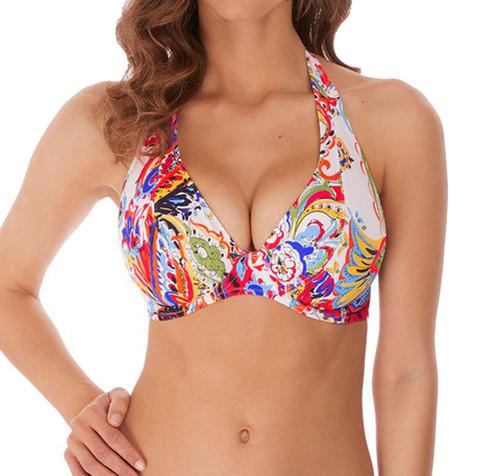 Freya Rococo AS6870 W Underwired High Apex Bikini Top Paisley PIY CS