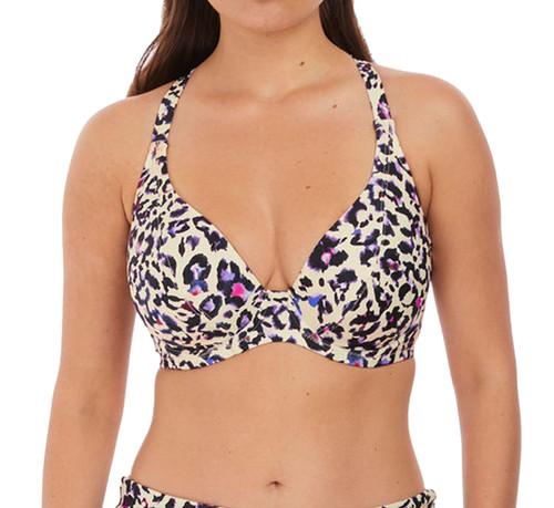 Fantasie Bonito FS6941 W Underwired Plunge Bikini Top Amethyst AMT CS