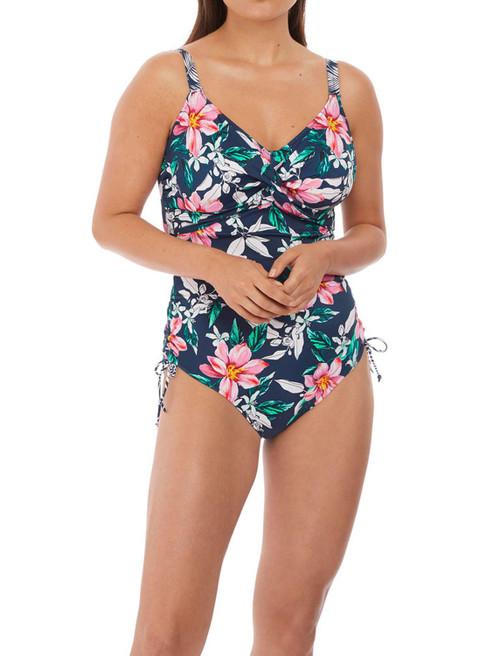 Fantasie Port Maria FS6898 W Underwired Adjustable Leg Swimsuit INK CS